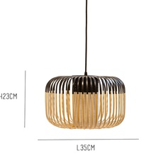 Bamboo light outdoor s  suspension pendant light  forestier 20130  design signed 53916 thumb