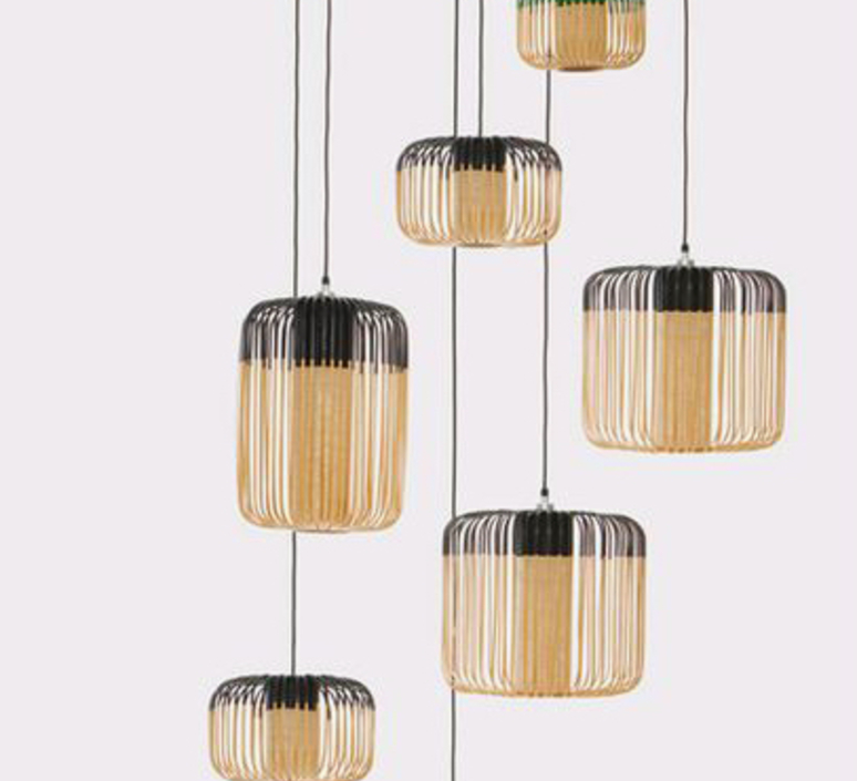 Bamboo light outdoor s  suspension pendant light  forestier 20130  design signed 70083 product