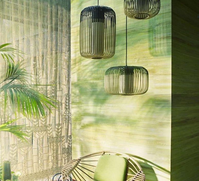 Bamboo light outdoor s  suspension pendant light  forestier 20131  design signed 53917 product