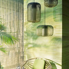 Bamboo light outdoor s  suspension pendant light  forestier 20131  design signed 53917 thumb