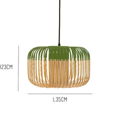 Bamboo light outdoor s  suspension pendant light  forestier 20131  design signed 53919 thumb
