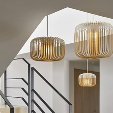 Bamboo light outdoor xs  suspension pendant light  forestier 21107  design signed 53911 thumb