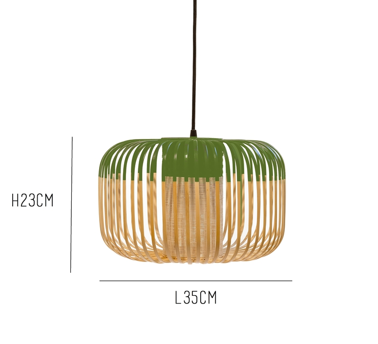 Bamboo light s green arik levy  forestier al32170sgr luminaire lighting design signed 27348 product