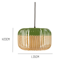 Bamboo light s green arik levy  forestier al32170sgr luminaire lighting design signed 27348 thumb