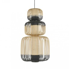 Bamboo light totem arik levy suspension pendant light  forestier totem 20136  design signed 43066 thumb