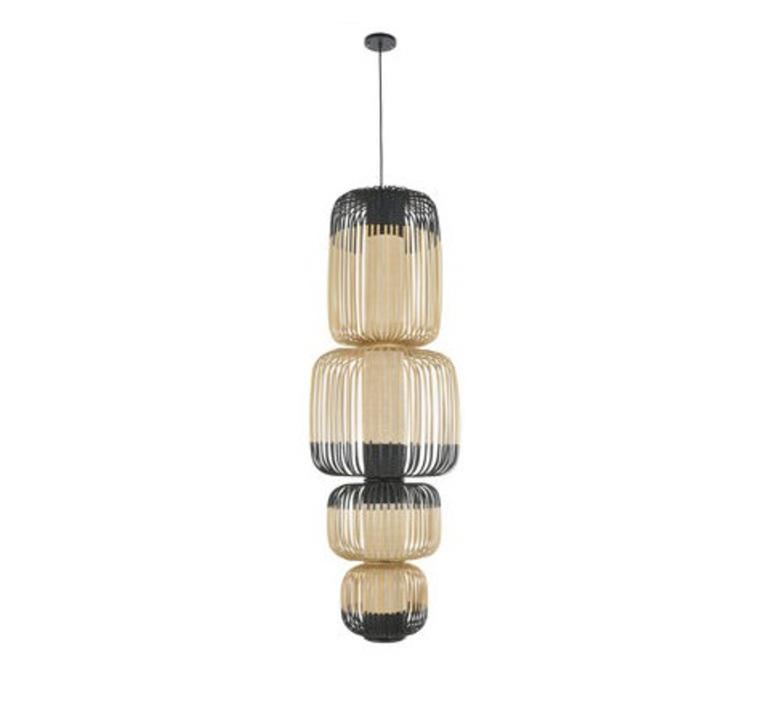 Bamboo light totem arik levy suspension pendant light  forestier totem 20137  design signed 43067 product