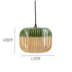 Bamboo light xs green arik levy forestier al32170xsgr luminaire lighting design signed 27352 thumb