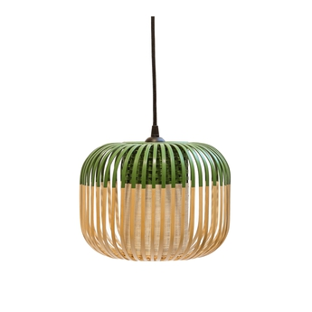 Suspension bamboo light xs green bambou vert o27cm forestier normal