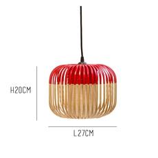 Bamboo light xs red arik levy  forestier al32170xsrd luminaire lighting design signed 27355 thumb