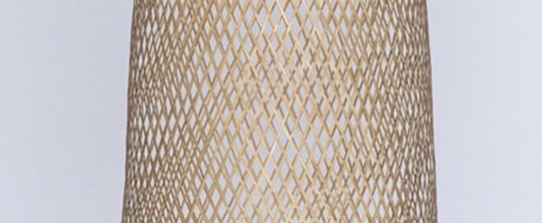Suspension bamboo m2 naturel o30cm h55cm ay illuminate normal