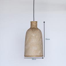 Bamboo m2 ay lin heinen et nelson sepulveda suspension pendant light  ay illuminate 702 101 01 p  design signed 37069 thumb