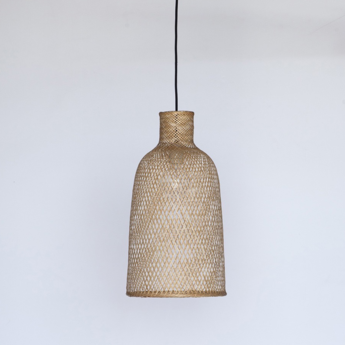 Suspension bamboo m2 naturel o30cm h55cm ay illuminate normal