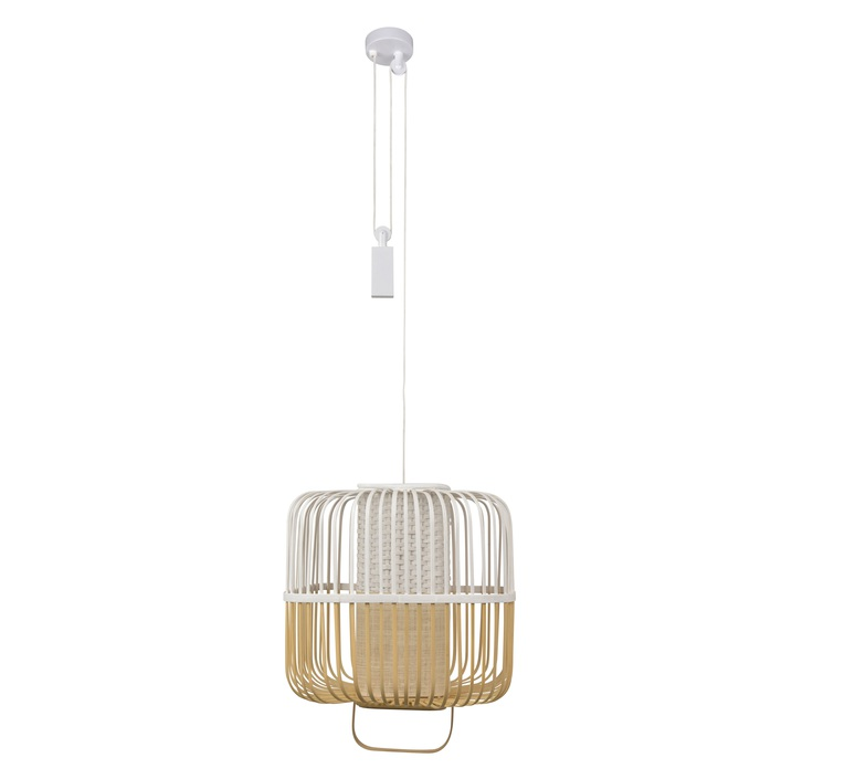 Bamboo square m arik levy suspension pendant light  forestier 21152  design signed 59350 product