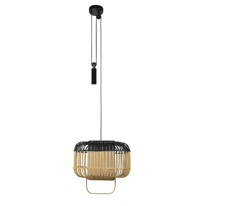 Bamboo square s arik levy suspension pendant light  forestier 21151  design signed 59344 product