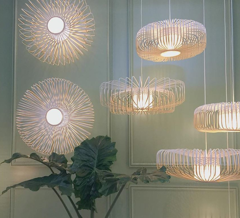 Bamboo up and down xxl arik levy suspension pendant light  forestier 21158  design signed 59384 product