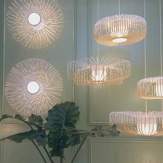 Bamboo up and down xxl arik levy suspension pendant light  forestier 21158  design signed 59384 thumb