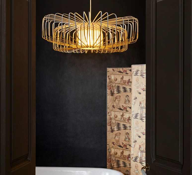 Bamboo up and down xxl arik levy suspension pendant light  forestier 21158  design signed 70121 product