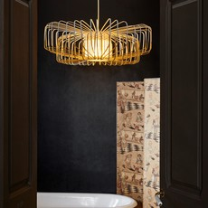 Bamboo up and down xxl arik levy suspension pendant light  forestier 21158  design signed 70121 thumb