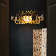 Bamboo up and down xxl arik levy suspension pendant light  forestier 21159  design signed 70106 thumb