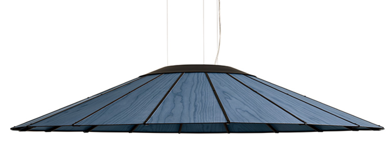 Suspension banga sg bleu led o120cm h20cm lzf normal