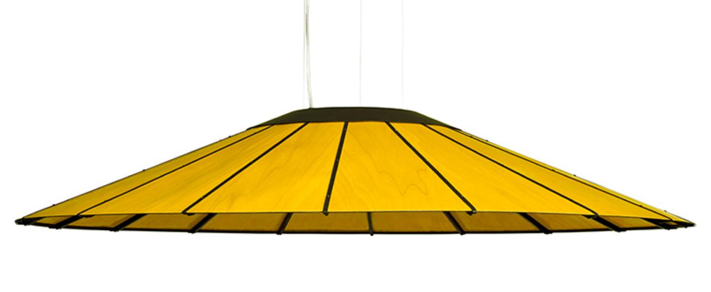 Suspension banga sg jaune led o120cm h20cm lzf normal
