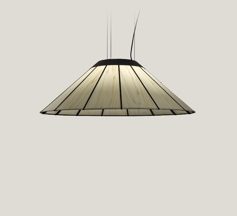 Banga sm yonoh estudio creativo suspension pendant light  lzf dark bnga sm led dim0 10v 20  design signed 126423 product