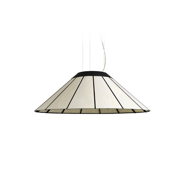 Suspension banga sm blanc led o90cm h30cm lzf normal