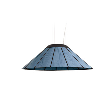 Suspension banga sm bleu led o90cm h30cm lzf normal