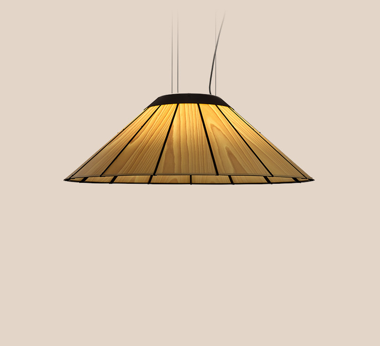 Banga sm yonoh estudio creativo suspension pendant light  lzf dark bnga sm led dim0 10v 22  design signed 126421 product
