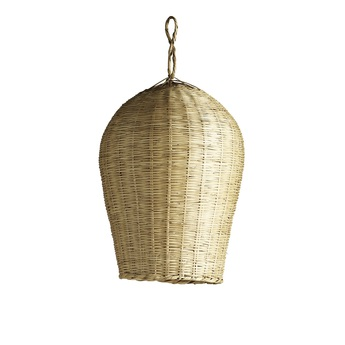 Suspension basket l naturel o35cm h55cm tine k home normal