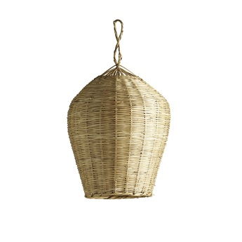 Suspension basket m naturel o30cm h50cm tine k home normal