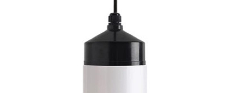 Suspension bauhaus 22 noir et blanc o11cm h32 5cm zangra normal