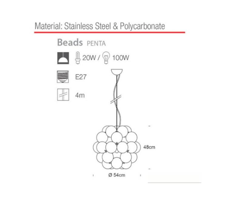 Beads penta winnie lui innermost pb039140 03 luminaire lighting design signed 12664 product