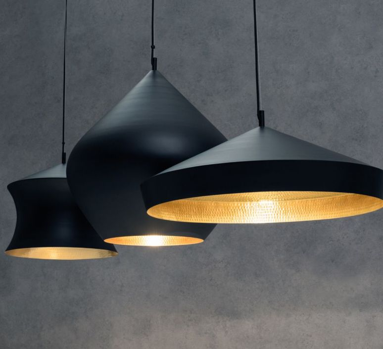 Pendant light beat black trio linear pendant system black gold beat black trio linear pendant system tom dixon suspension pendant light tom dixon blps04 peum1 design aloadofball Image collections
