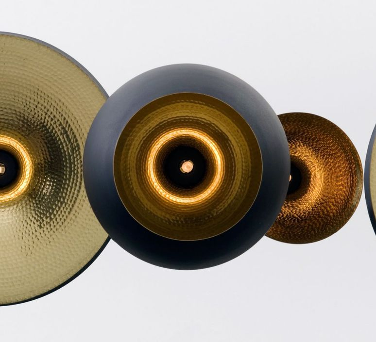 Beat black trio linear pendant system tom dixon suspension pendant light  tom dixon blps04 peum1  design signed 36766 product