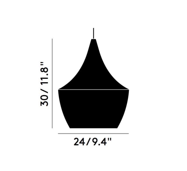 Beat fat tom dixon suspension pendant light  tom dixon bls02wh peum2   design signed 33893 product