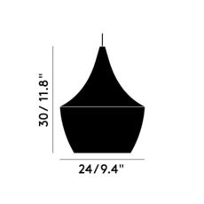 Beat fat tom dixon suspension pendant light  tom dixon bls02wh peum2   design signed 33893 thumb