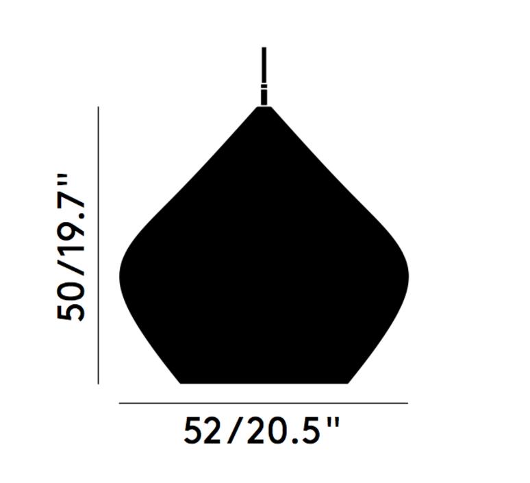 Beat stout tom dixon suspension pendant light  tom dixon bls04b peum2   design signed 33974 product