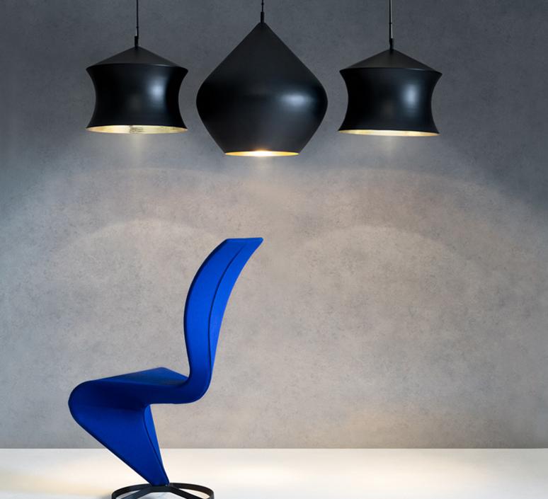 Beat waist tom dixon suspension pendant light  tom dixon bls05 peum1   design signed 33948 product