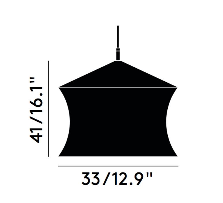 Beat waist tom dixon suspension pendant light  tom dixon bls05 peum1   design signed 33953 product