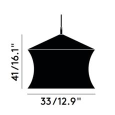 Beat waist tom dixon suspension pendant light  tom dixon bls05 peum1   design signed 33953 thumb
