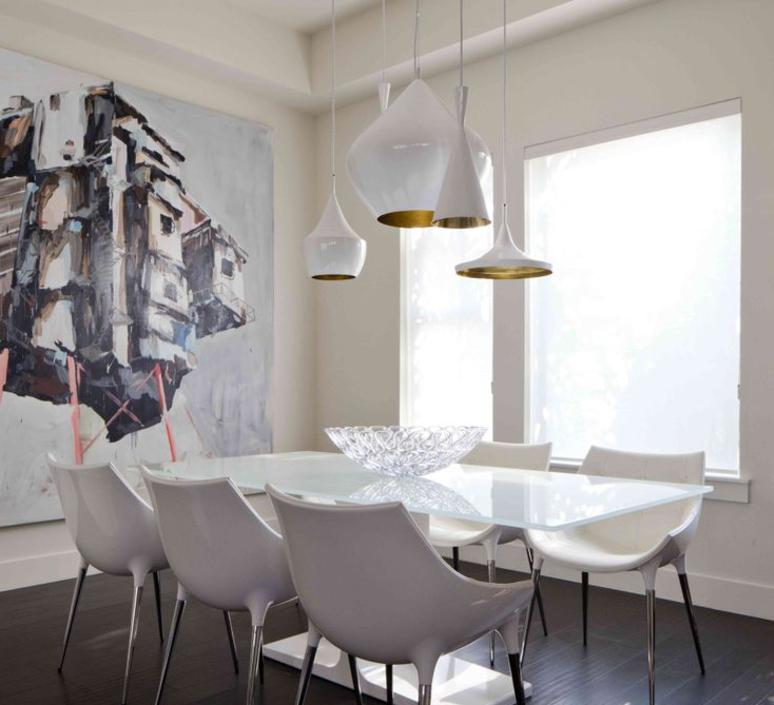 suspension beat wide blanc et laiton h16cm 36cm tom dixon luminaires nedgis. Black Bedroom Furniture Sets. Home Design Ideas