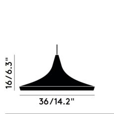 Beat wide tom dixon suspension pendant light  tom dixon bls01wh peum2   design signed 33935 thumb
