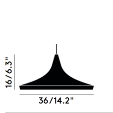 Beat wide tom dixon suspension pendant light  tom dixon bls01b peum2   design signed 33941 thumb