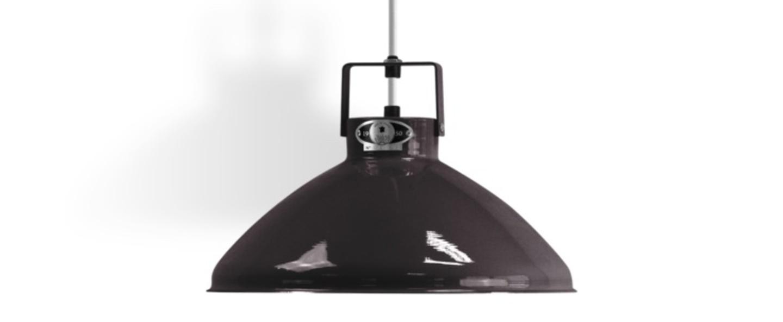Suspension beaumont 240 noir brillant o30cm h18 5cm jielde normal