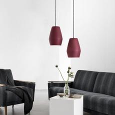 Bell burgundy matt mark braun northern lighting  bell burbundy luminaire lighting design signed 28889 thumb