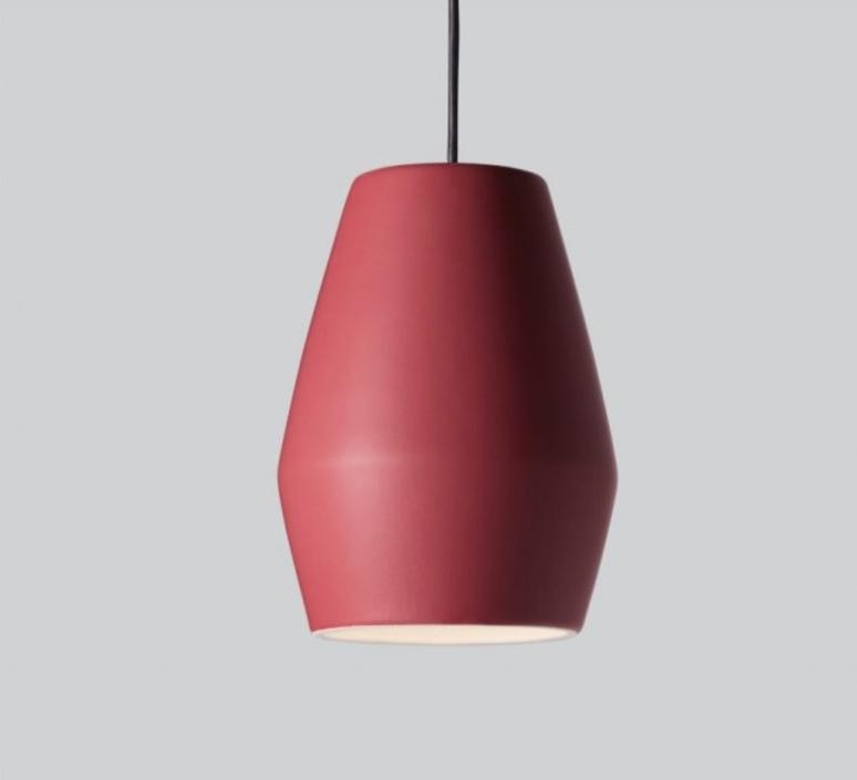 Bell burgundy matt mark braun northern lighting  bell burbundy luminaire lighting design signed 28890 product