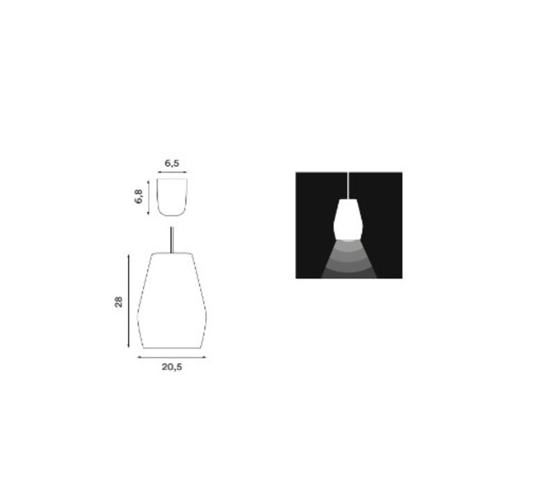 Bell burgundy matt mark braun northern lighting  bell burbundy luminaire lighting design signed 28891 product