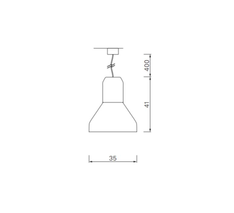 Bell copper sebastian herkner  classicon bellcopperglass luminaire lighting design signed 29633 product