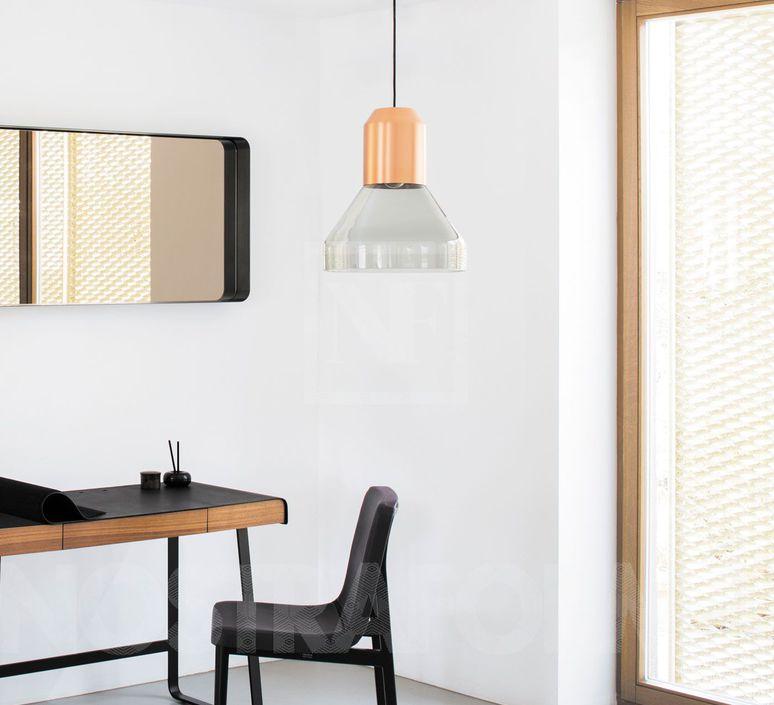 Bell copper sebastian herkner  classicon bellcopperglass luminaire lighting design signed 54586 product
